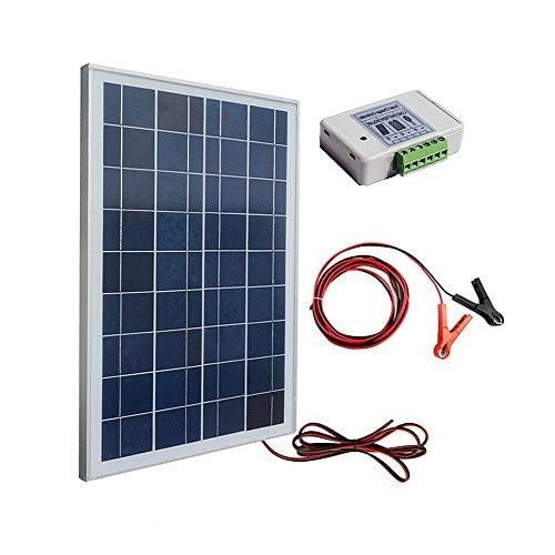 ECO-WORTHY 12 voltios 25 vatios Kits solares: 1pc 25W módulo de panel solar