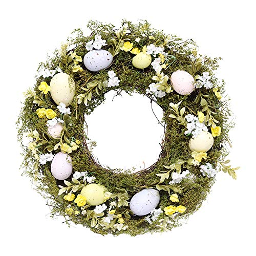 Easter Decoration, Simulation Garland Easter Decoration Window Decoration Door Decoration Pendant,Home Ornaments Household Decoration Toys Gift Easter Party Favor for Kids Adults