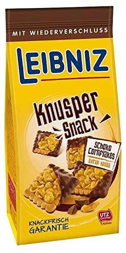 Leibniz Knusper Snack Schoko Cornflakes, 5er Pack (5 x 150g)