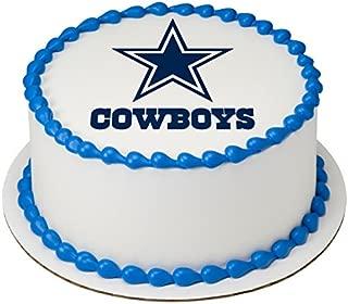 NFL Dallas Cowboys Licensed Edible 8