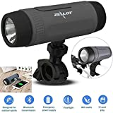 Bluetooth Speaker with Flashlight Wireless Stereo Outdoor Emergency Torchlight...