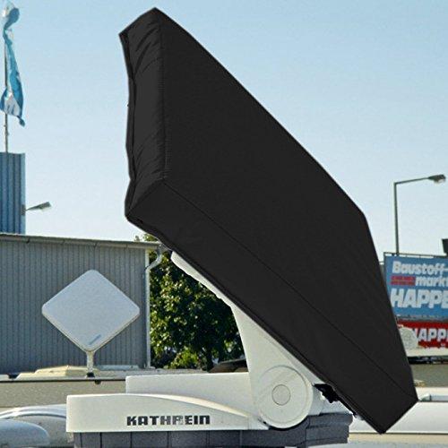 Hagelschutzhaube für Kathrein Antenne BAS 60 / 65 / 66 - anthrazit