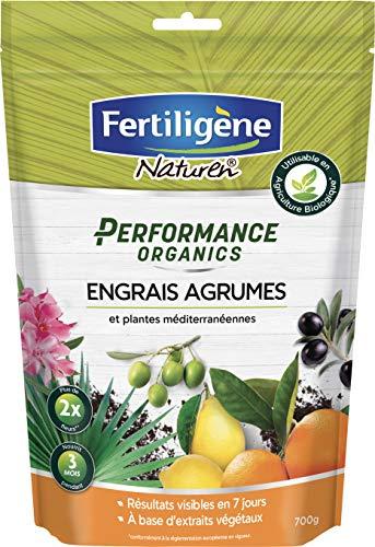 FERTILIGENE - Fertilizzante per agrumi, Piante mediterranee Performance Organics, 700 g