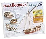 Artesanía Latina 19004. Maqueta de Barco en Madera HMS Bounty's Jolly Boat 1/25