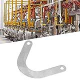 Placa de válvula - Placa de válvula de 5 piezas Accesorio de compresor de aire de metal de 59 mm de ancho en forma de U