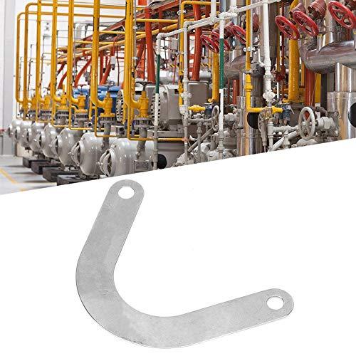 Ventilplatte - 5 Stk. Ventilplatte 59 mm breites U-förmiges Metall-Luftkompressor-Zubehör