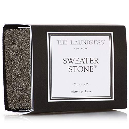 Die Laundress Pullover Stone, schwarz