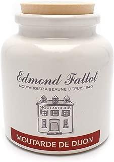 Edmond Fallot Original Dijon Mustard in Crock, 9 Ounce