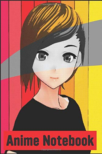 Anime Notebook: Girl Anime Notebook Journal-Back To School Notebook Journal-Anime Blank Lined Composition Book