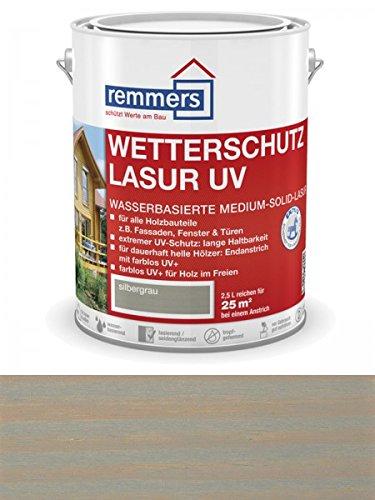 Remmers Wetterschutz-Lasur UV - silbergrau 2,5L
