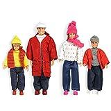Lundby 60.8052.00 - Smaland: Puppenfamilie in Winterkleidung