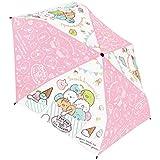 ジェイズプランニング 折畳傘 すみっコぐらしアイスクリーム ピンク 53cm 90302