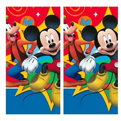 Disney Mickey Mouse Clubhouse Party Table Cover - 2 Pieces