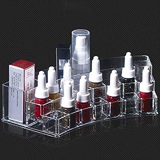 ملحقات - قطعة واحدة من الأكريليك لتنظيم أدوات التجميل وتنظيم أدوات التجميل ومستحضرات التجميل وصندوق تخزين إكسسوارات ميكروب...