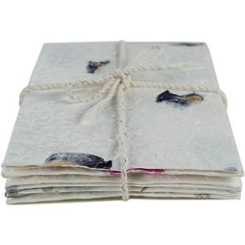 W-Boxins 4 diversi motivi graziosi disegni colorati 32 fogli di carta da cancelleria a righe con 16 buste