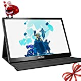 Thinlerain Portable Monitor 15.6 inch Full HD Display 1920x1080 IPS Screen Ultra Thin HDMI Portable Computer Monitor, USB Powered Monitor for Laptop, Mac, Xbox one, Raspberry pi, PS4