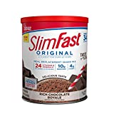 SlimFast Original Rich Chocolate Royale Meal Replacement Shake Mix –...