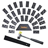 VonHaus Laminate Wood Flooring Installation Kit with 30 Spacers, Tapping Block, Pull Bar and Hard Rubber Mallet - Home and Professional Use
