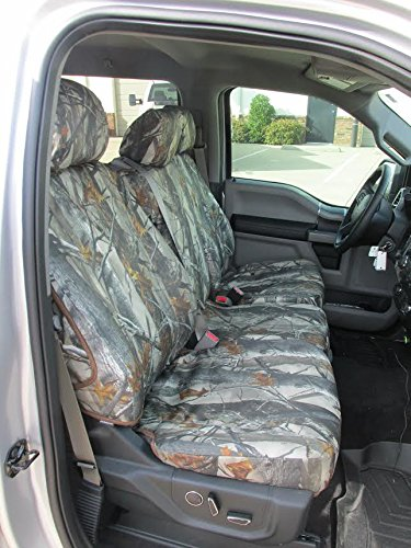 Durafit Seat Covers made to fit, FD81 XD3 C 2015-2019 F150/F550 Camo Endura and for 2015-2019 Ford F150 Super Crew Front and Rear Seat Cover Set.