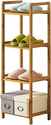 LiSun Rack de Zapatos Simple De múltiples Capas Económico Ensamblaje del hogar Rack de Almacenamiento Almacenamiento