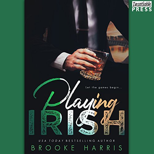 Playing Irish audiobook cover art
