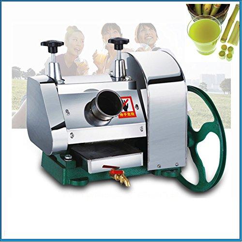 CGOLDENWALL manual sugar cane juicer desktop machine stainless steel household commercial sugarcane press juice machine