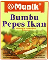 Munik Pepes Ikan Steamed Fish with Hot Spices 90-Gram
