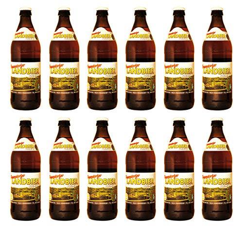 Brauerei Hetzel - Frauendorfer Landbier Premium (12 Flaschen) I Bierpaket von Bierwohl