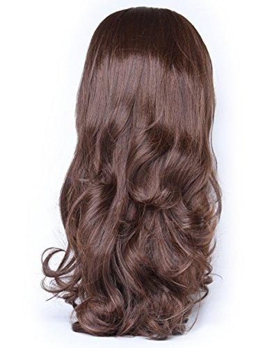 Beauty Works Haarverlängerung/Haarteil, Kunsthaar, für mehr Volumen, gelocktes Haar, Nr. 4