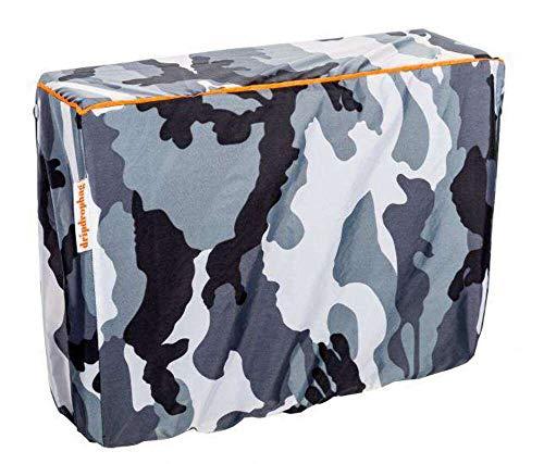DripDropBag Rain Cover pour épaule Blanc/Gris/Noir 40 x 30 x 20 cm