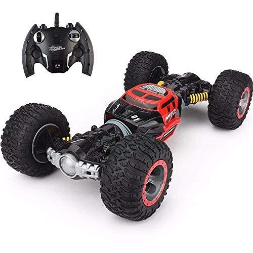Coche de control remoto, control remoto de los niños Crawler 1:24 Off-Road Control Remoto Coche / Vacío Neumático / Polpieza biónica / Stition Duración de cuatro caras Transporte de alta velocidad Big