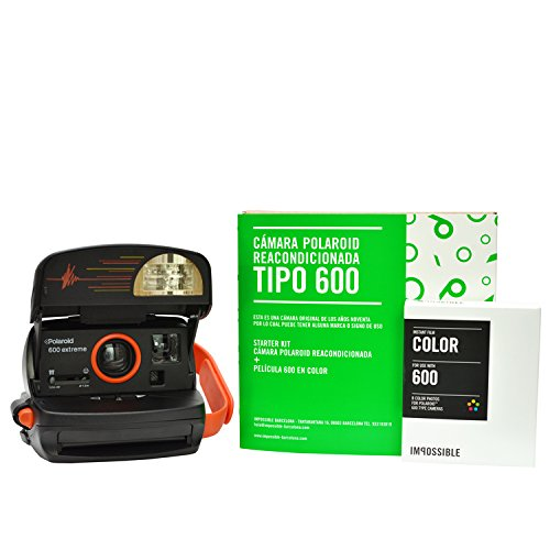 Cámara Polaroid 600 90'S + 1 película