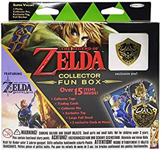 Legend of Zelda Collector's Fun Box with pin V2.0English Version Eplay Cards
