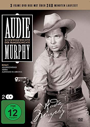 Audie Murphy - Schwergewichte der Filmgeschichte (3 Filme) [2 DVDs]