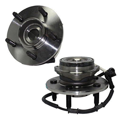 Detroit Axle 515029 - Both Front Wheel Hub and Bearing Assemblies w/14mm Bolt Holes for F-150 F150 2000 2001 2002 2003 4x4 4WD