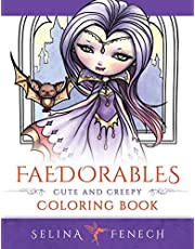 Faedorables: Cute and Creepy Coloring Book