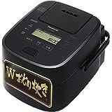 パナソニック 炊飯器 1升 高級モデル Wおどり炊き スチーム&可変圧力IH式 ブラック SR-VSA180-K