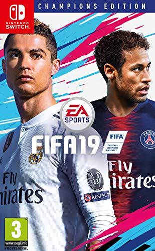 Electronic Arts FIFA 19 Champions Edition Nintendo Switch Inglés, Italiano vídeo - Juego (Nintendo Switch, Deportes, Modo multijugador, E (para todos), Soporte físico)