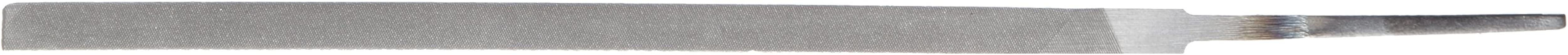 "Nicholson Pillar File, Swiss Pattern, Double Cut, Rectangular, #2 Coarseness, 6"" Length, Extra Narrow"