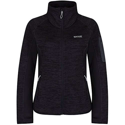Regatta Great Outdoors Laney II Damen Fleecejacke (38/weiß/schwarz)