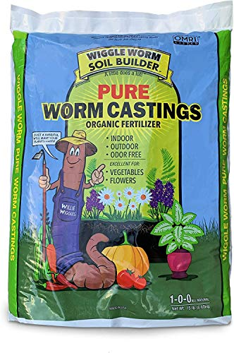 Unco Industries Wiggle Worm Soil Builder Earthworm Castings...