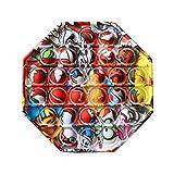 Ousyaah Pincez Sensorielle Jouet, Push et Pop Bubble Sensory Fidget Toy, Rainbow Popit Fig...