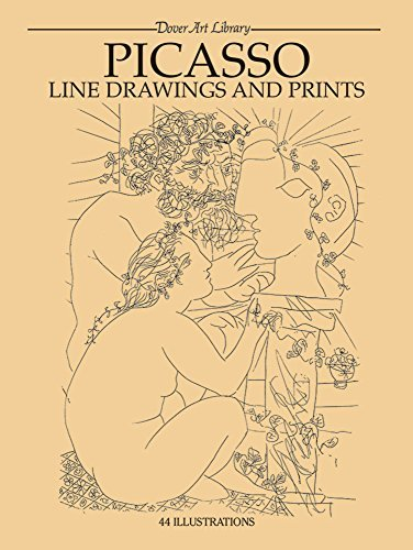 Picasso Line Drawings and Prints (Dover Fine Art, History of Art) by Pablo Picasso (2000-01-02)