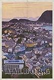 Aalborg: Jutland Denmark Limfjord Planner Calendar Organizer Daily Weekly Monthly [Year Below]