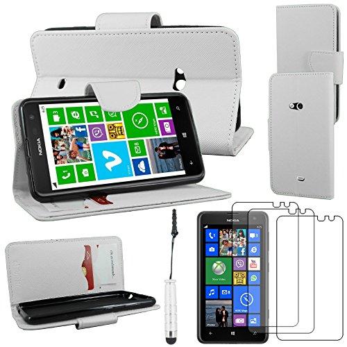 ebestStar - Funda Compatible con Nokia Lumia 625 Carcasa Cartera Cuero PU,...