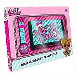L.O.L. Surprise Orologio Digitale Bambina con Cinturino in Plastica 22070