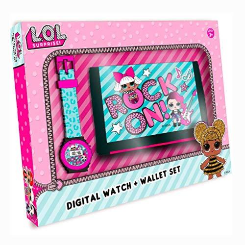 L.O.L. Surprise Mädchen Digital Uhr mit Plastik Armband 22070