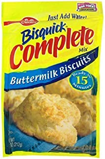 Betty Crocker, Bisquick, Complete Mix, Buttermilk Biscuits, 7.5-Ounce Pouch (Pack of 6)