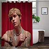Joemary Ju_st_in B_ie_BER Waterproof Fabric Shower Curtain Hooks Bathroom Odorless Eco Friendly 60 x 72 inch