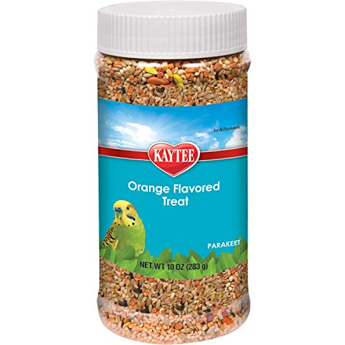 Kaytee Forti Diet Pro Health Orange Flavored Bird Treats For Parakeets, 10-Ounce